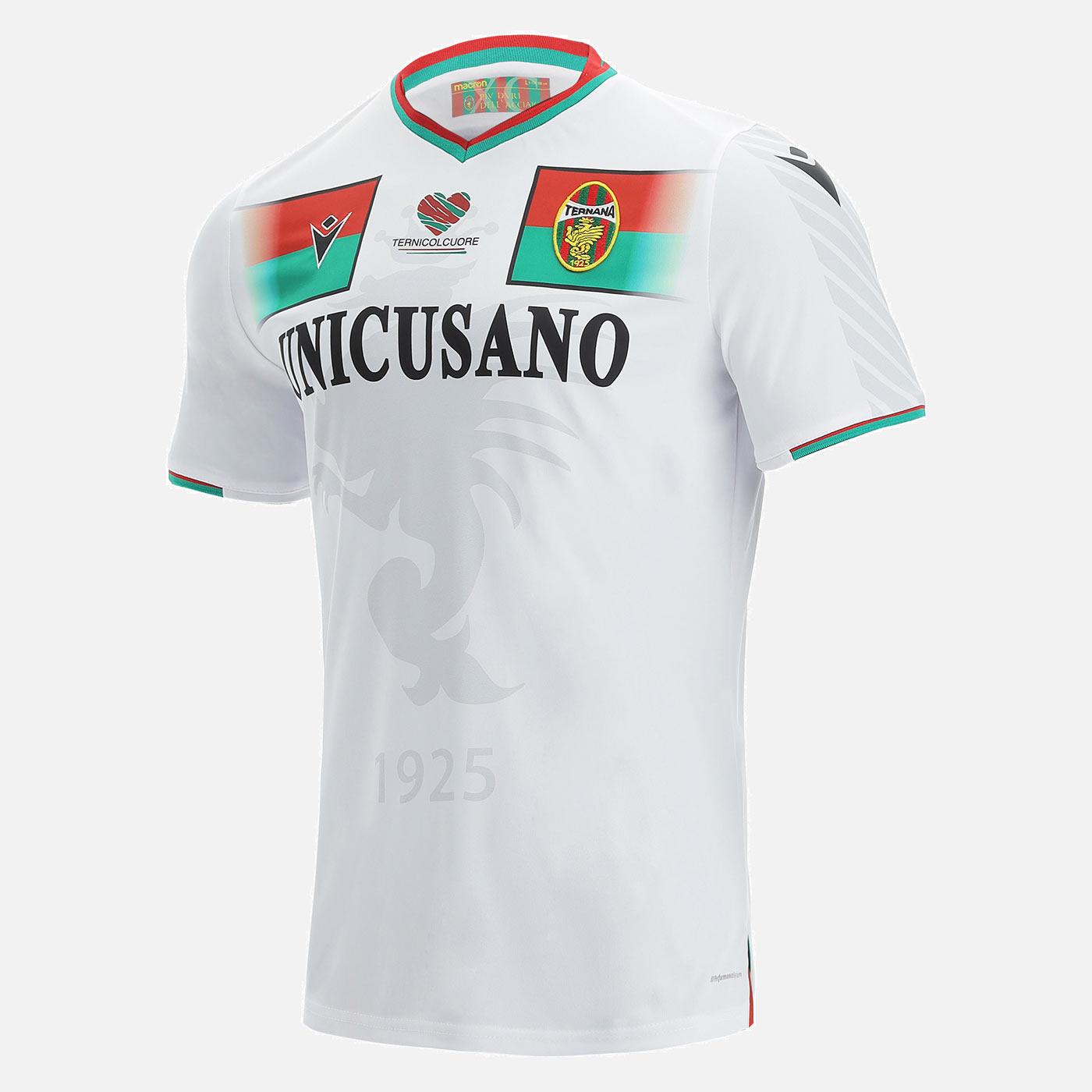 Seconda maglia Ternana bianca 2021-2022
