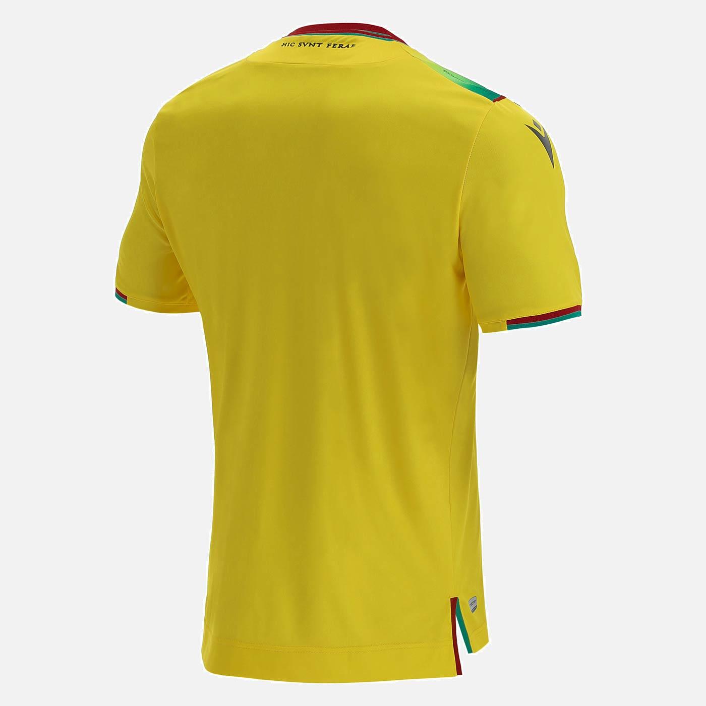 Retro divisa Ternana gialla 2021-2022