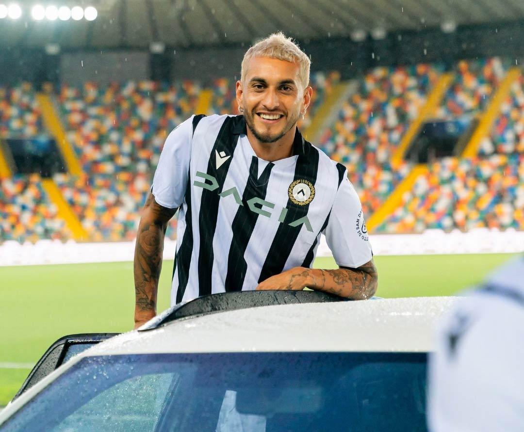 Presentazione maglia Udinese