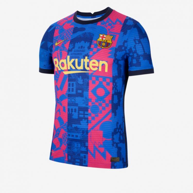 Terza maglia Barcellona 2021-2022 Champions League