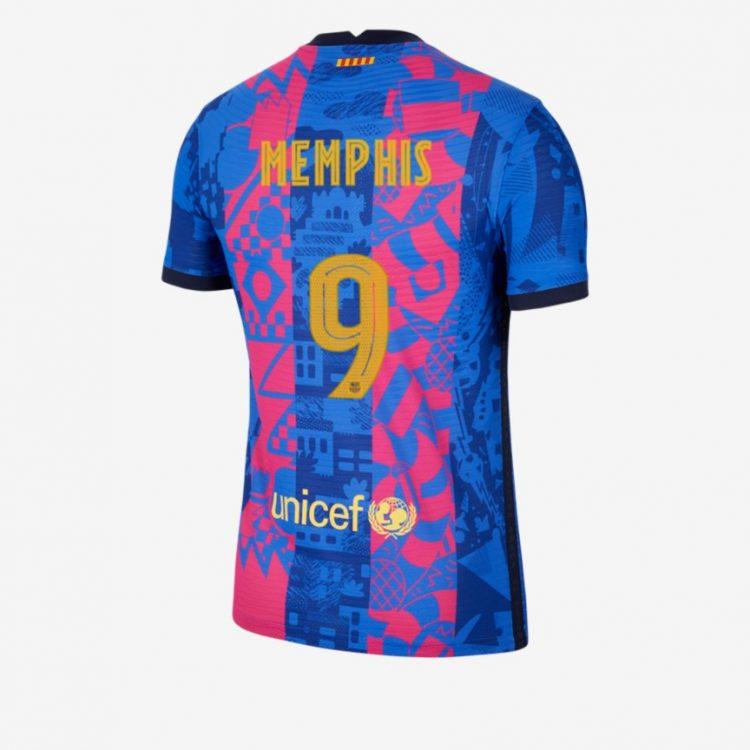 Retro terza maglia Barcellona 2021-22