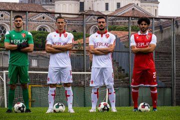 Le nuove maglie del Padova 2021-2022