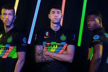 La nuova terza maglia dell'Inter 2021-2022