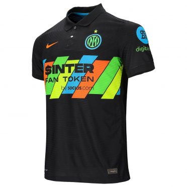 Terza maglia Inter 2021-2022 fluo