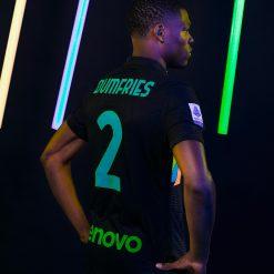 Dumfries terza maglia Inter nera