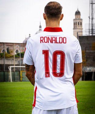 Ronaldo 10 prima divisa Padova Calcio