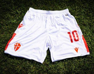 Pantaloncini Padova home bianchi