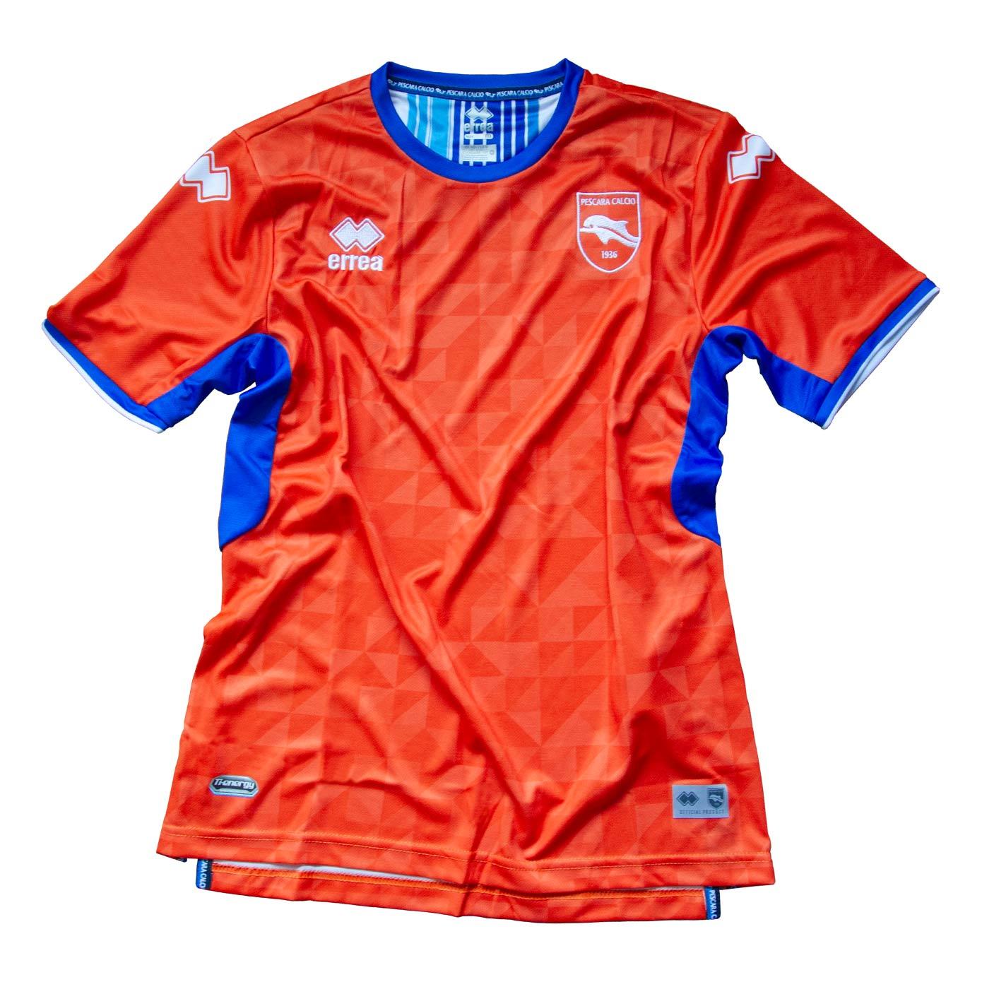Seconda maglia Pescara 2021-2022 arancione