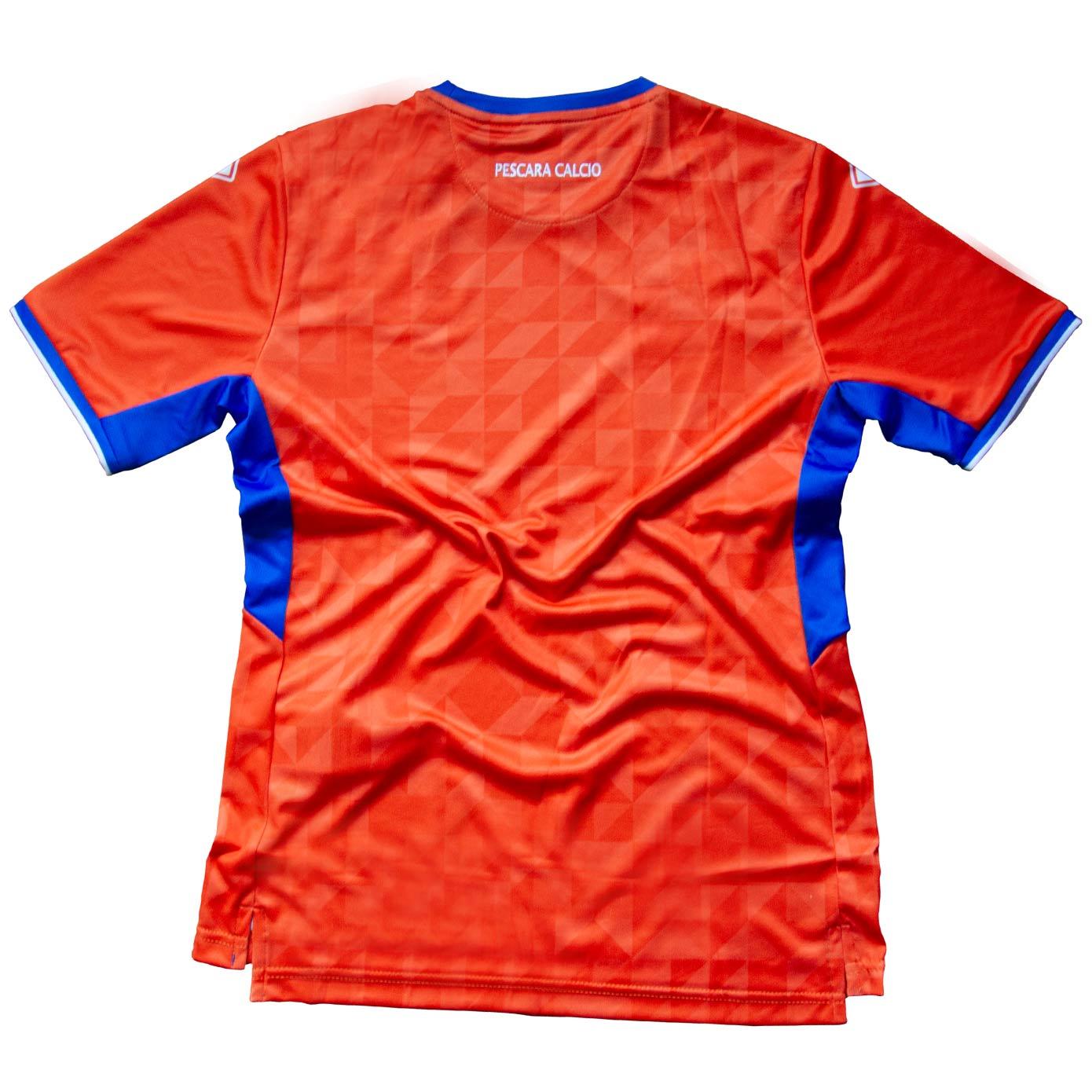Retro maglia arancione Pescara Erreà