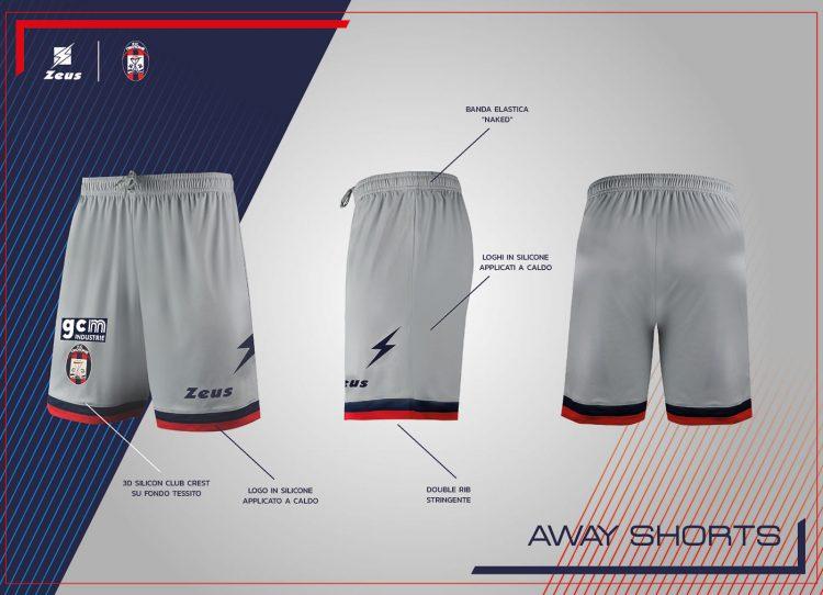 Pantaloncini Crotone away 2021-2022