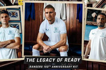 Rangers maglia celebrativa 150 anni Castore